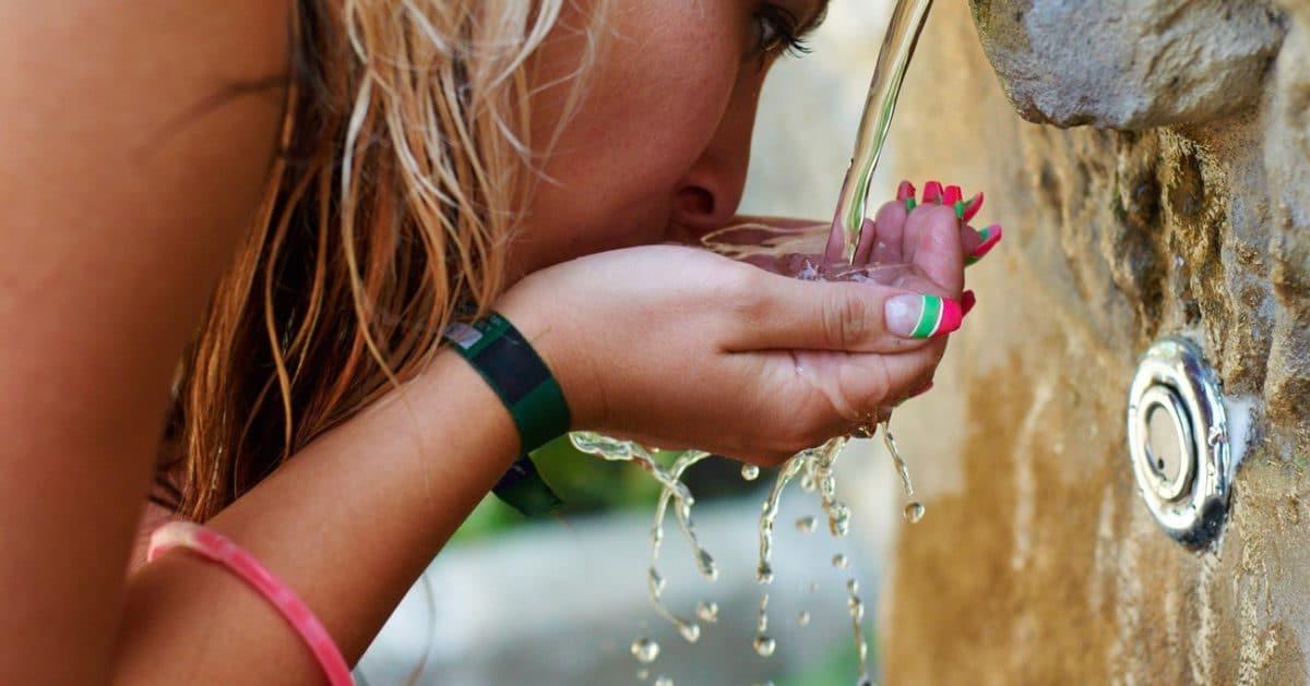 La canicule et l'eau