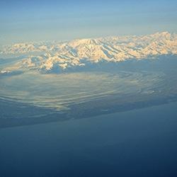 Le glacier Malaspina (glacier de piémont) en Alaska. (flickr) par mgrenner57