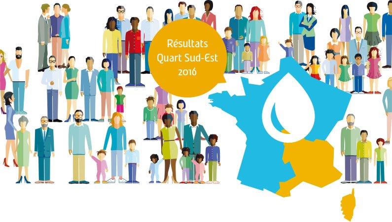 Résultats Quart Sud-Est 2016