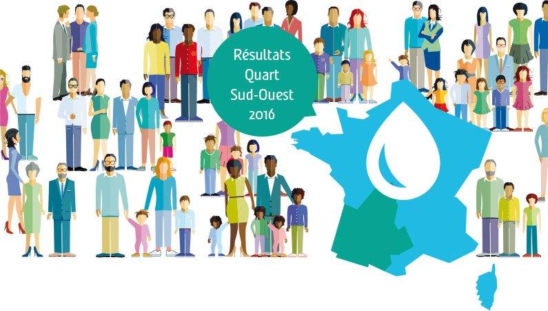 Résultats Quart Sud-Ouest 2016
