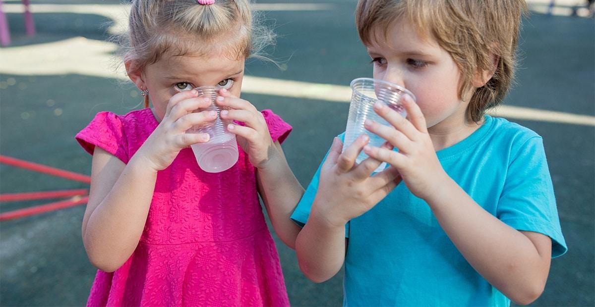 Quelle hydratation pour l'enfant ?