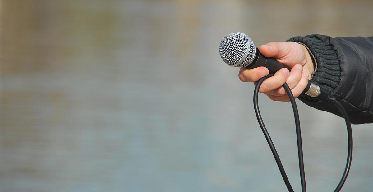 Media, microphone