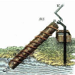 On attribue à Archimède (287 - 212 av. J.-C.) l'invention de la vis comme élément de relevage de l'eau.