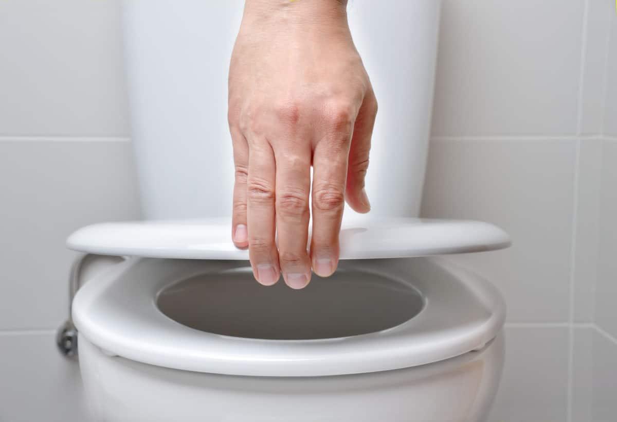 Dechets jetés aux toilettes attention
